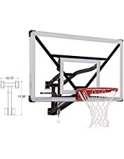 """Silverback NXT 54"""" Wall Mounted Adjustable-Height Basketball Hoop with QuickPlay Design"""