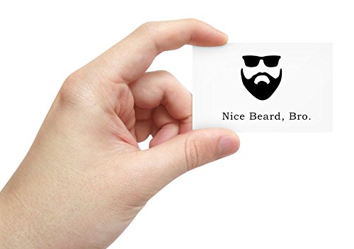 Nice Beard Bro! [Kudos Cards] Set of 20 Cards - Spread Good Vibes, Perfect for Beard Owners and Beard - Beards Good That Look