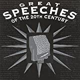 Great Speeches of the 20th Century by Various (1992-05-13)