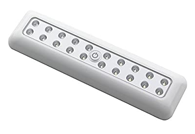LIGHT IT by Fulcrum 30017-308 20-LED Wireless Anywhere Extra Bright Rectangular Light