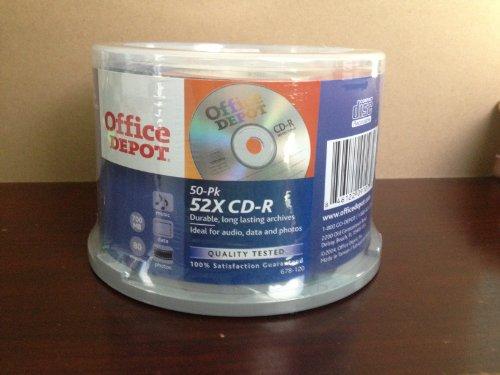 50 Pk 52x CD-R 700mb