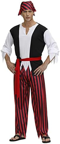 Pirate Costume Captain Halloween Costumes product image