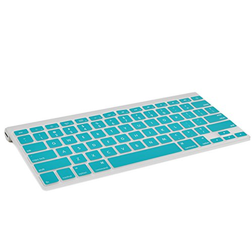 Silicone Wireless Keyboard AQUA BLUE