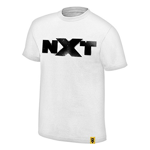 We are NXT Spraypaint WWE Authentic Mens White T-shirt-XL by WWE Authentic