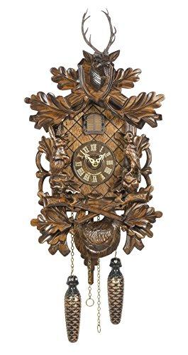 Trenkle Quartz Cuckoo Clock Hunting Clock TU 361 Q - Hunting Cuckoo Clock