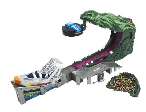 Hot Wheels J2554  Crazy Croc