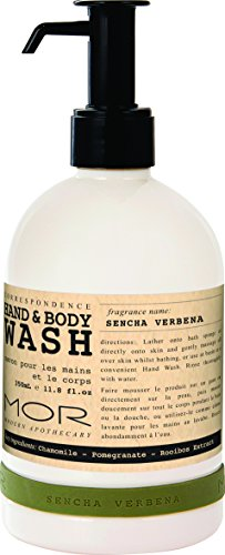 (Mor Hand and Body Wash, Sencha Verbena, 11.8 Fluid Ounce)