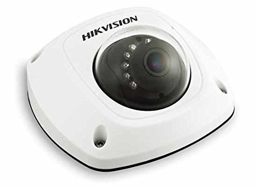 Hikvision V5.2.5 DS-2CD2532F-IWS Mini Dome Camera Wide Angle Weatherproof IR IP66 POE Power Network CCTV Camera with Mic Audio Input Wifi Indoor Security Camera 2.8mm Lens