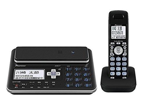 Pioneer デジタルコードレス電話機 親機のみ ブラック TF-FA70S-K + Pioneer 電話機アクセサリー フラッシュベル ホワイト TF-TA21-W セット 【国内正規品】 B01IH4BVA8 ブラック|親機のみ+フラッシュベルセット ブラック