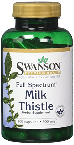 Cheap Swanson Milk Thistle 1,000 mg 100 Caps 2 Pack