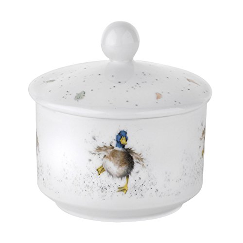 Wrendale by Royal Worcester Duck Sugar Pot by royal worcester