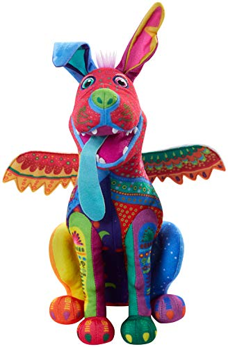 Disney Pixar Coco Dante Alebrije Feature Plush, Soft Toys Based on Animated Films For Kids 3 Yrs and Up (GNG10)