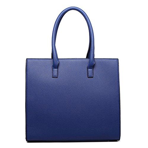 Large Handbags Size NY Tote Shoulder A4 Bags Great Lulu Miss 1666 Handbag amp;WE Women ATcxWBvRZq
