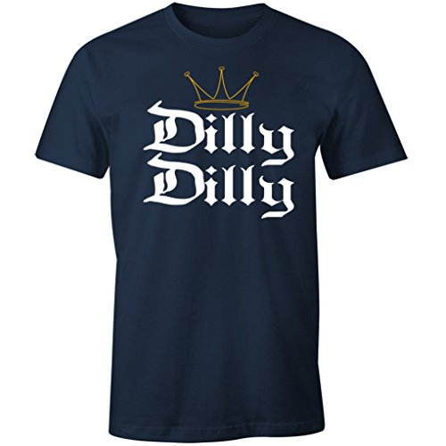 - Fantastic Tees Dilly Dilly Funny Beer St. Patrick's Day Shirt (4XL, Navy)