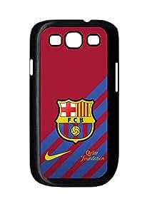 [PhoneCaseMaster] (Premier League) Hot Sale Fc Barcelona Logo Case For Samsung Galaxy S3 I9300 Carcasa