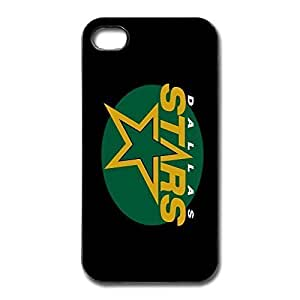 Dallas Stars Scratch For Apple Iphone 4/4S Case Cover - Fashion Cover
