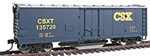 Walthers Trainline 40' Plug-Door Track Cleaning Boxcar - CSX #135720