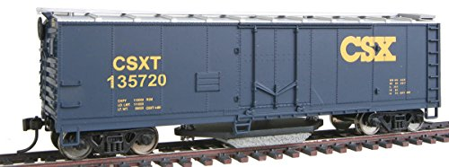 Walthers Trainline 40-Foot Plug-Door Track Cleaning Boxcar CSX 135720, HO Scale