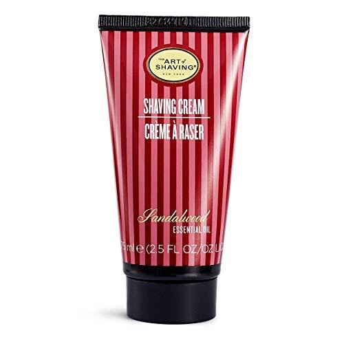 The Art of Shaving Shaving Cream Tube, Sandalwood, 2.5 fl. oz
