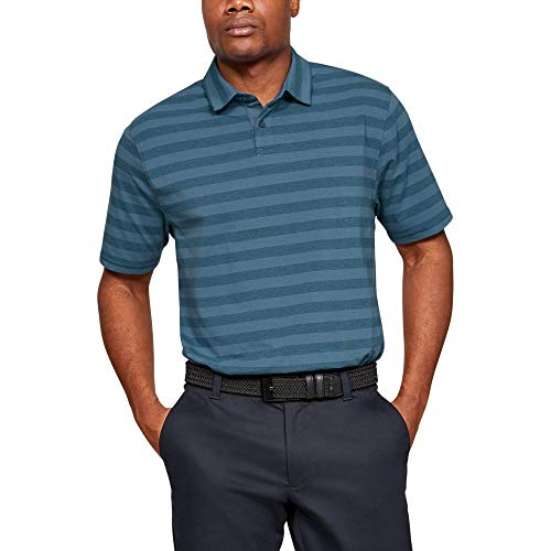 - Under Armour Charged Cotton Scramble Stripe LG Thunder