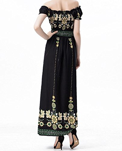 Chest Classic Women Floral Sexy 2 Printing Coolred Long Wrapped Waist Simple Dress fRgqqw