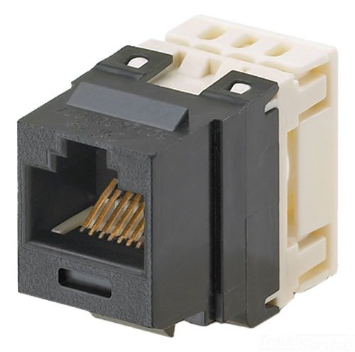 Panduit NKP5E88MBU Category-5E 8-Wire Jack Module, Blue, 4-Pair