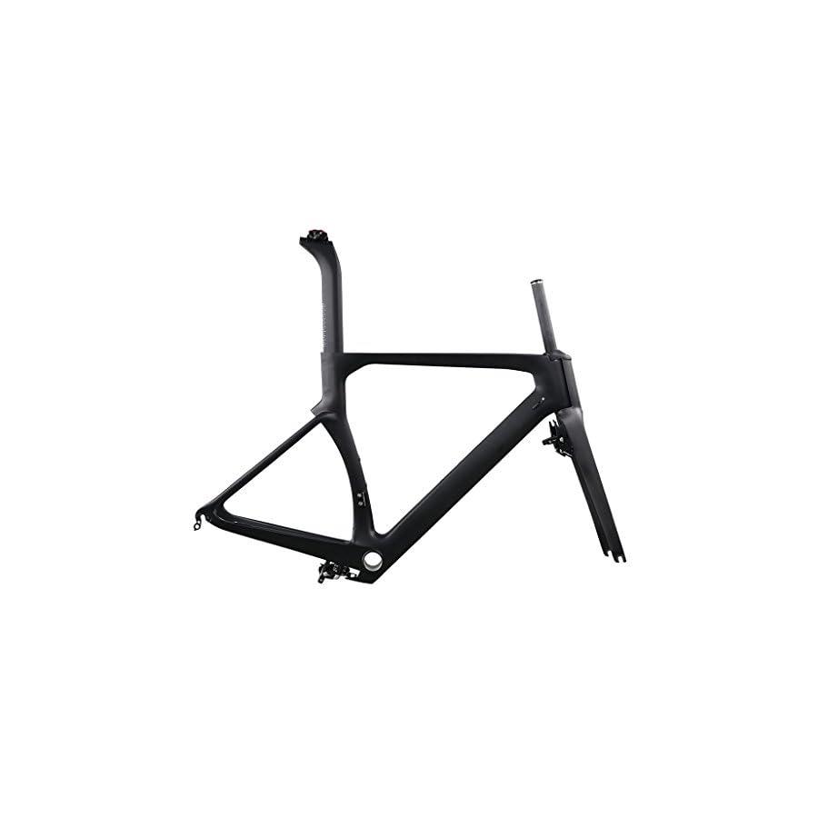 ICAN Aero Carbon Road Bike Frame Set 700C 45/48/50/52/54/56/58/60cm