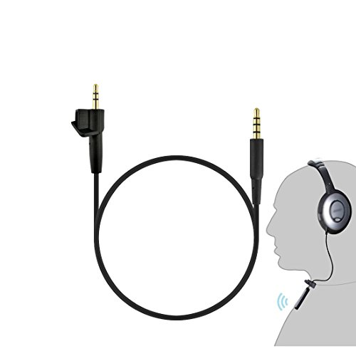 Wireless Conversion Kit for Bose Around-Ear AE2, AE2i Headphones / Bluetooth Adapter Cable / Bluetooth Receiver Connection Cable (Black)