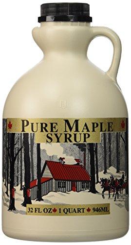 Empty Maple Syrup Jugs - Quart (32 FL OZ Each) - Case of 4 -