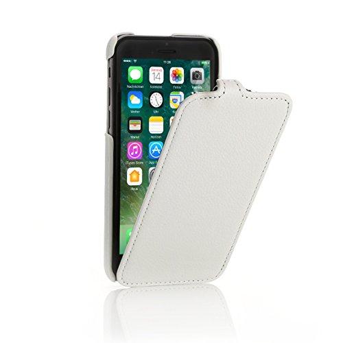 iPhone 8 / 7 Hülle, Arktis Ultraslim Luxus Schutzhülle - Weiß