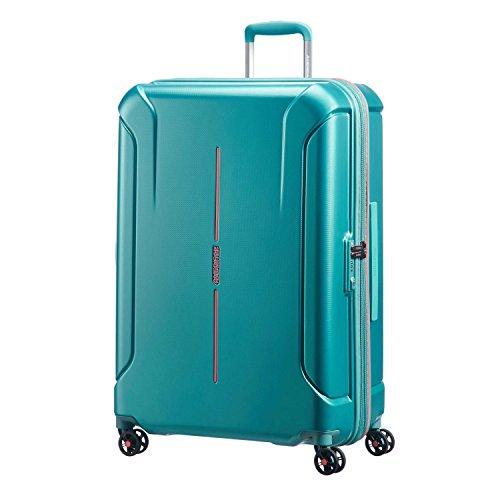 - American Tourister Technum Spinner Hardside 28, Jade Green