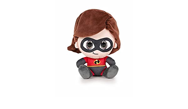 Amazon.com: Disney Glitzies – Peluche Los Increibles Elastic Girl (Famous 760016540): Toys & Games