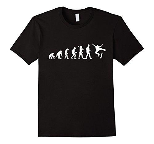 Mens SKATEBOARD EVOLUTION | T-Shirt For Men and For Women XL Black