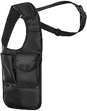 BlueStraw Nylon Anti-Thief Hidden Underarm Shoulder Bag Shoulder Wallet Concealed Pack, Multi-Purpose Men/Women Safety Storage Shoulder Armpit Bag Holster Tactical Bag for Work Travel Outdoors