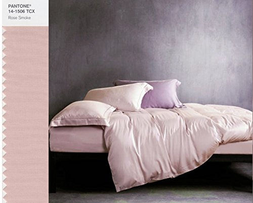 Rose Gold Duvet Cover Luxury Bedding Set High Thread Count
