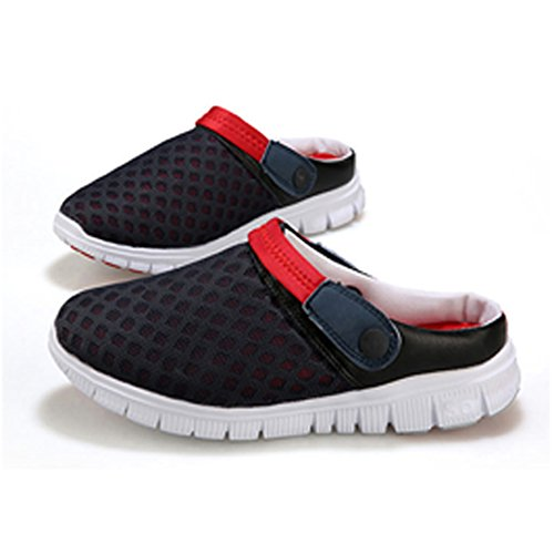 Casual Men Women Beach Breathable Sandals Nest for Slippers Mesh Red Holes BSXxRzq