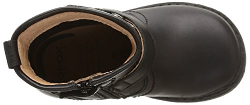 Geox B Glimmer G B - Zapatos de primeros pasos Bebé-Niñas Negro (c9999)