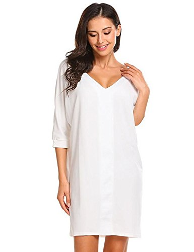 WDDGPZSY Camisa De Dormir/Camisón/Ropa De Dormir/Pijamas/Vestido Para Dormir