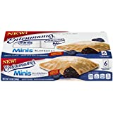 || Entenmann's | Minis Blueberry Snack Pies| Lightly Glazed | Delicious | Tasty | Yummy | 12 oz | 6 Individually Wrapped…