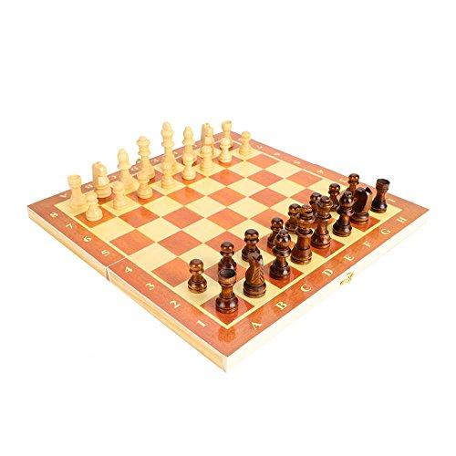 チェスセット 国際チェス 木製 折りたたみ式ボード 30 * 30cm 携帯型 チェス盤チェス駒セット 旅行ゲーム 知能開発 家族活動 プレゼント