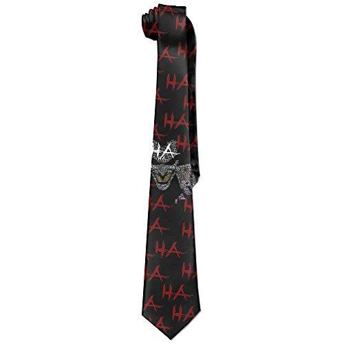 Hioyio Men's The Joker Necktie&Skinny Tie