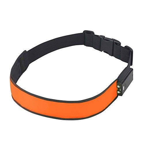 time to run Hochsichtbares LED Läufer und Radfahrer Hüftgurt LED-Reflektorgürtel USB Charged