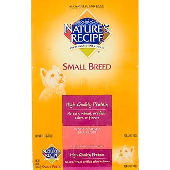 Nature's Recipe Breed Specific Venison Meal and Rice Small Dog Food, 14 lbs., My Pet Supplies