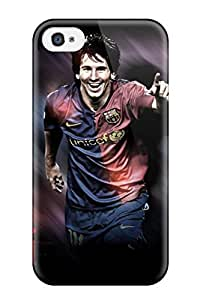 New Lionel Messi Shoes Tpu Skin Case Compatible With Iphone 4/4s