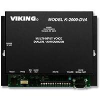 VIKING ELECTRONICS Multi-input Voice Dialer/Annou / VK-K-2000-DVA /