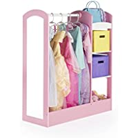 See and Store Dress Up Center Play Set, Pastel