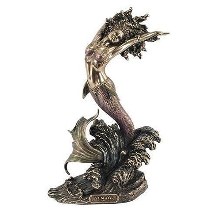 Figura de resina Sirena YEMAYA
