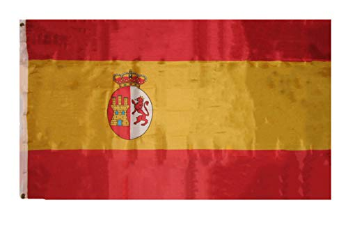 ALBATROS 3 ft x 5 ft Kingdom of Spain Flag Banner Grommets Fade Resistant Indoor Outdoor for Home and Parades, Official Party, All Weather Indoors Outdoors