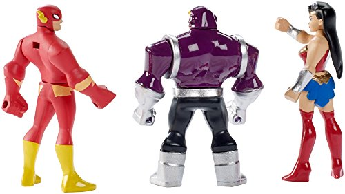 41JMSmmulPL DC Justice League Action Mighty Minis Wonder Woman, The Flash, & Mongul Mini Figures, 3 Pack