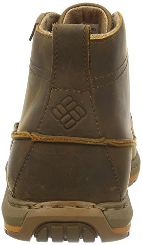 Columbia Davenport Chukka Waterproof Leather, Scarpe Oxford Uomo Marrone (Elk, Bright Copper 286)
